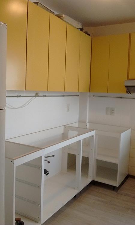 Muebles de Cocina, Fabricación, instalación o reparacion, cambio de ...